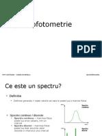 spectrofotometrie