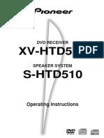 Pioneer HTD510DV