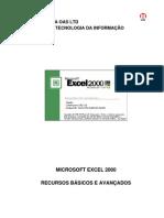 Apostila Excel 2000