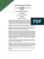 Ley Asociaciones CR