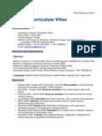 Racil CV 2011