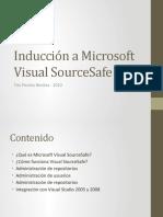 20081113 - Inducción a Microsoft Visual SourceSafe 2005 (Public)