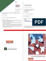 Díptico Taller Empoderamiento Laboral ONGs en Sevilla