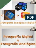 Fotografia Digital vs Fotografia Analogica