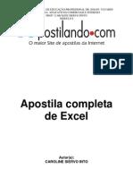 Apostila de Excel 2003