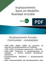 Desplazamiento intraurbano en Medellín. Corporación Región