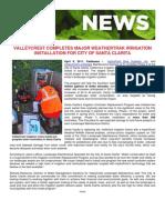 ValleyCrest Performs Complete Irrigation Retrofit