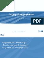 Langage C++