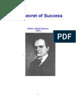 The Secret of Success William Walter Atkinson