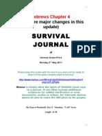 Survival Journal Hebrews Chapter 4 2.5