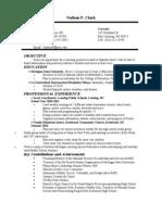 Clark Resume