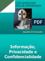 Informações Privativas e Prontuário- Jaqueline