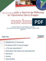 Automatizacion y Control de PCP