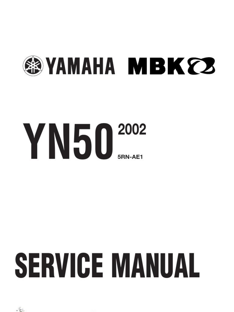 yamaha neo's 50-service manual (2002)sh   motor oil   suspension (vehicle)