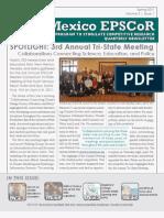 NM EPSCoR April 2011 Newsletter