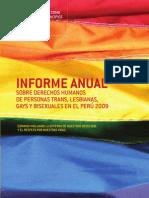 Promsex - Informe Ddhh Tlgb 2009