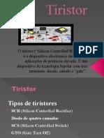 Tiristor-Trabalho