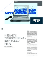 Internet e Video Confer en CIA No Processo Penal
