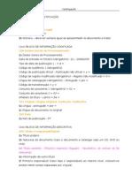 Manual de procedimentos - catalogação - abreviado