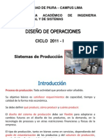 Sistemas de Producción