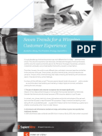 Seven Trends for a Winning Customer Experience By Andrew Macey