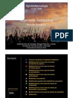 ingenieria metabolica -agrobiotecnologia-