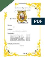 1er Infome Proyecto AlgoritmicaIIIultimo