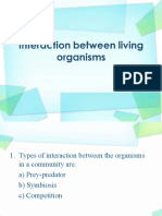 Interaction Between Living Organisms
