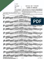 Scuola Del Violino Scale Ed Esercizi