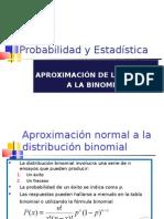 URL PE1CICLO11 CLASE 28 APROXIMACIÓN NORMAL A LA BINOMIAL