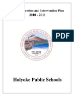 Holyoke Public Schools Bully Prevention and Intervention Plan