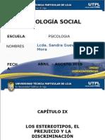 Los Estereiotipos Elprejuicio y La Discriminacion Psicologia Social Segundo