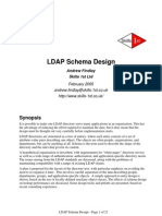 Ldap Schema Design Feb 2005