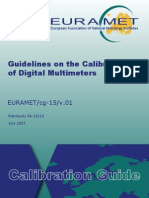 EURAMET-Cg-15.01 Guidelines Calibration Digital Multi Meters