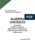 SCI Alarming Contracts