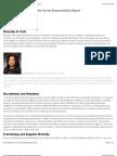 Yum! Brands 2010 Corporate Social Responsibility Report - Diversity
