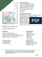 International ETHICON Catalogue