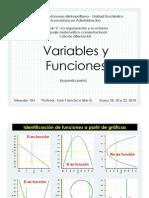 Variables y Funciones (Segunda Parte)