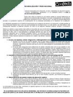 Convocatoria Movilización y Paro Nacional