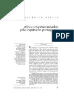 Africanos penitenciados pela Inquisição portuguesa