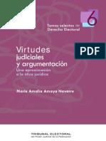 virtudes judiciales y argumentación