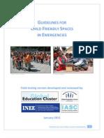 Guidelines for CFS in Emergencies