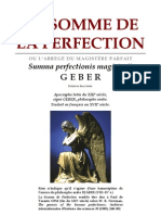 Alchimie Geber - La Somme de La Perfection