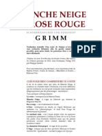 Alchimie Grimm - Blanche Neige Et Rose Rouge