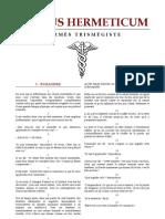 [Alchimie] Hermès Trismégiste - Corpus Hermeticum
