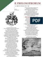 Alchimie Lambsprinck - De Lapide Philosophorum