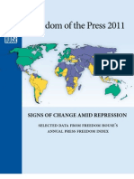 Freedom Of The Press 2011 Booklet