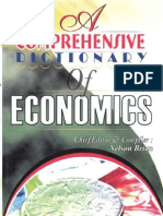 A Comprehensive Dictionary of Economics