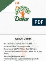 Dabur - Final Ppt