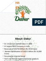 Dabur - Final Ppt